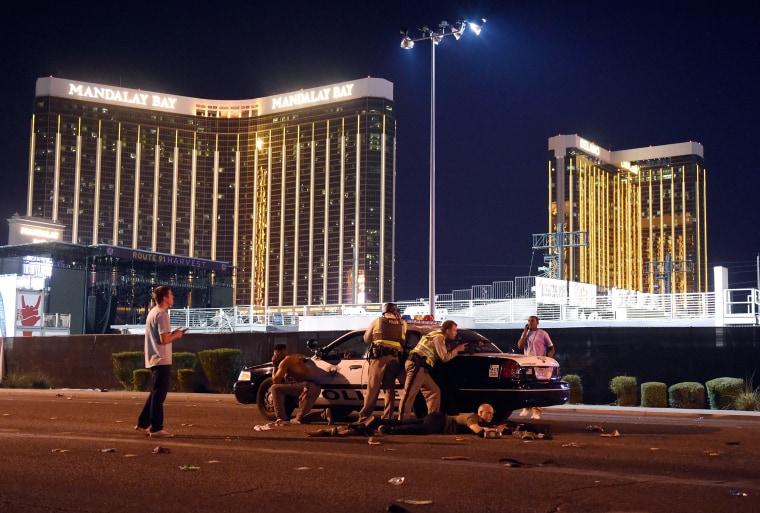 Image: Reported Shooting In Las Vegas