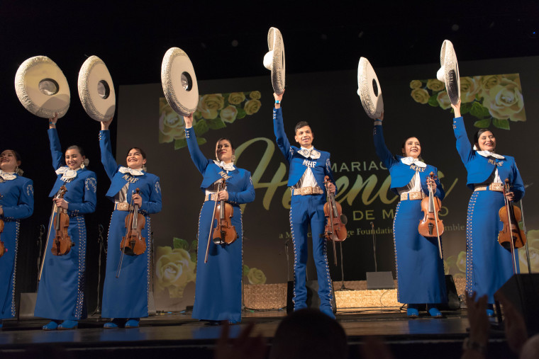 Mariachi Herencia de Mexico is comprised of students from Chicago's immigrant barrios.
