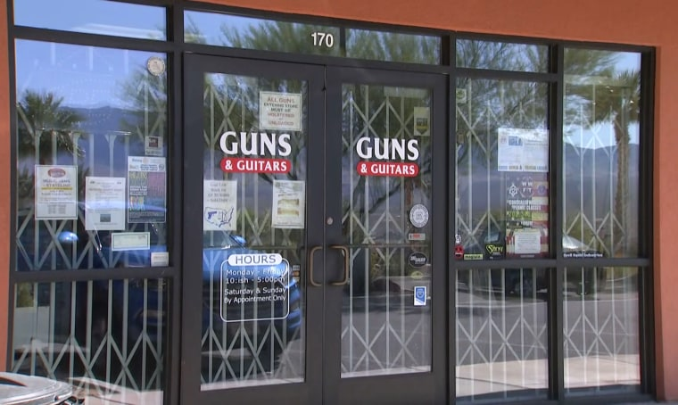 Image: Guns and Guitars in Mesquite, Nevada.