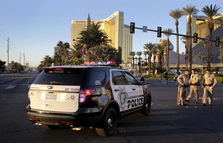 Image: Las Vegas Route 91 Harvest Festival Mass Shooting Aftermath