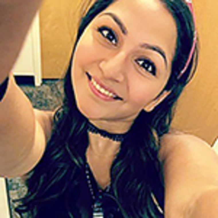 Image: Mandalay Bay shooting Angie Gomez in social media photo