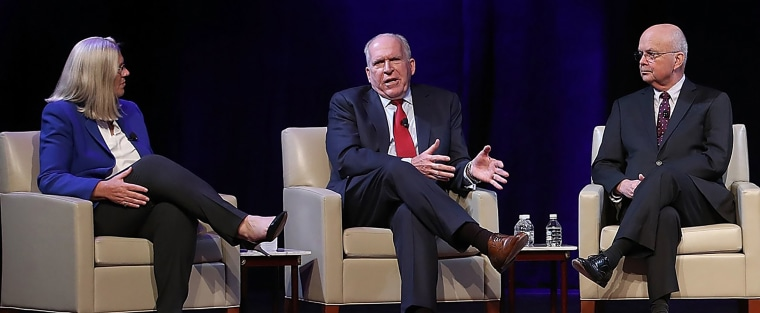 Image: Current CIA Director Mike Pompeo And Five Former CIA Directors Speak At National Security Conference
