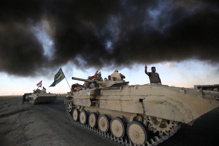 Image: U.S.-backed Iraqi forces