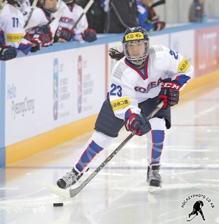 Marissa Brandt was adopted from South Korea as a baby. She will play for South Korea's ice hockey team at the 2018 Olympic games.