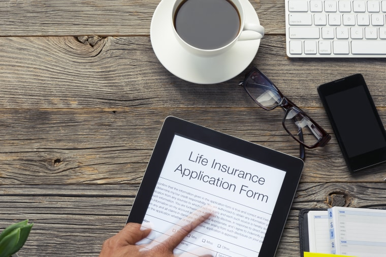 Image: Online Life insurance Application Form