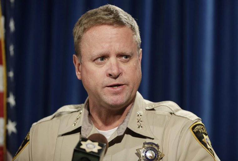 Image: Las Vegas police Undersheriff Kevin McMahill