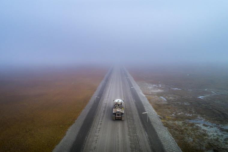 Image: The Dalton Highway; America's Loneliest Road