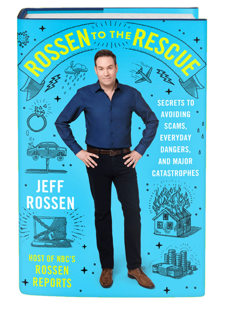 "JEFF ROSSEN'S NEW BOOK, ""ROSSEN TO THE RESCUE"""
