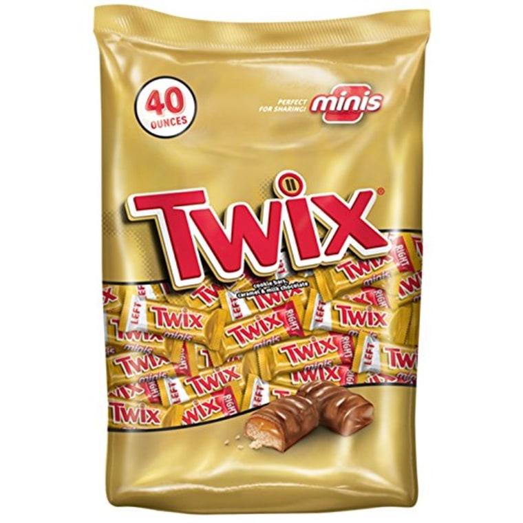 Twix mini candy bars