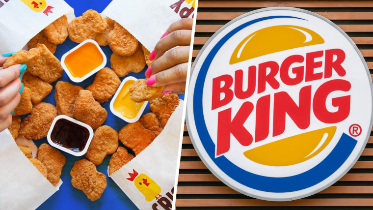 Burger King's new spicy chicken nuggets.