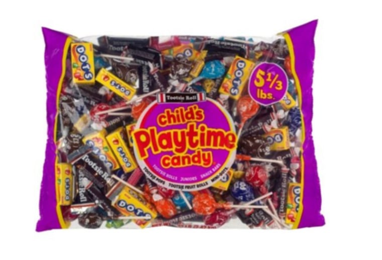 Tootsie roll candy mix