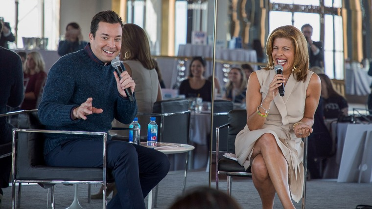 """Jimmy Fallon tells Hoda Kotb about his new children's book, """"Everything Is Mama."""""""
