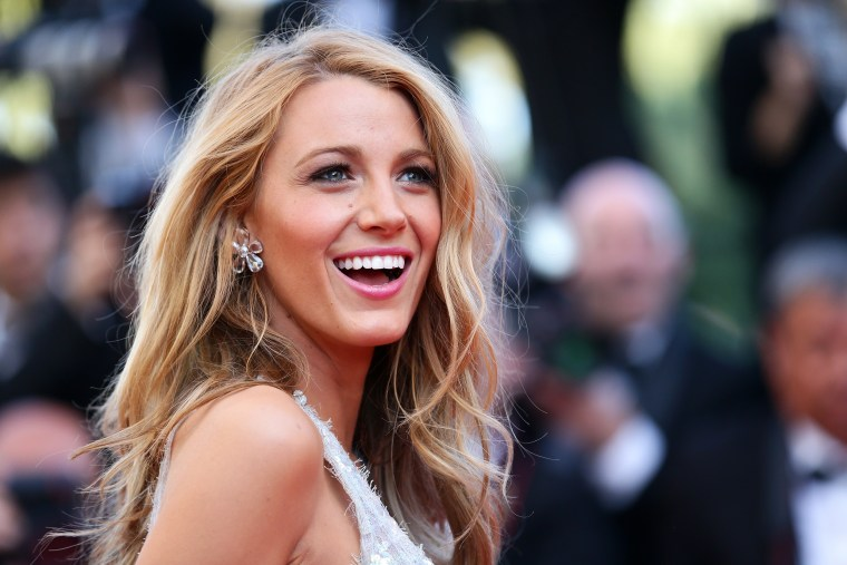 Lively sported her signature long, blond strands at the Cannes Film Festival in 2014.