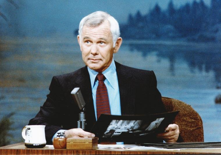 "Johnny Carson on the ""Tonight Show"""