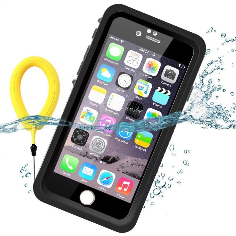 Floatable waterproof case in black