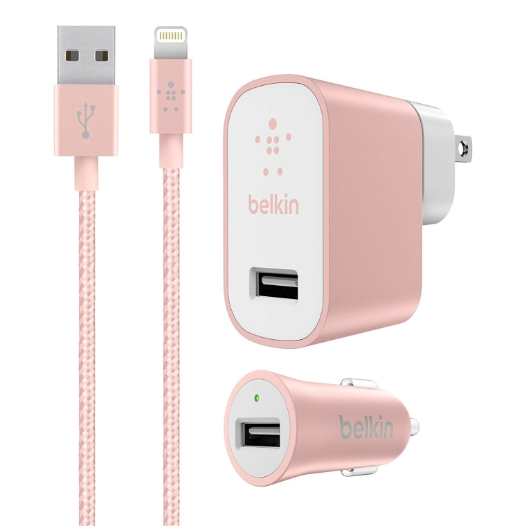 Belkin Charge Kit in pink