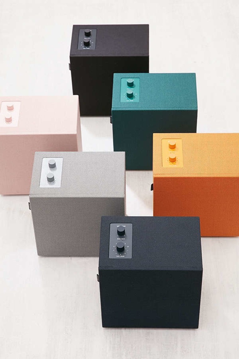 Colorful box speakers
