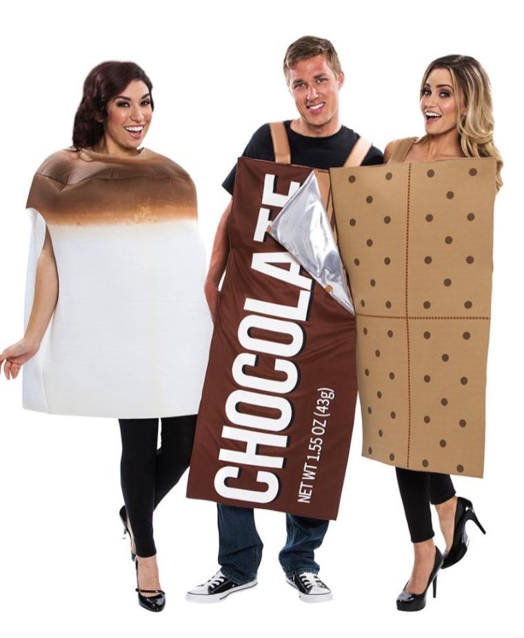 Smore's 3 piece costume
