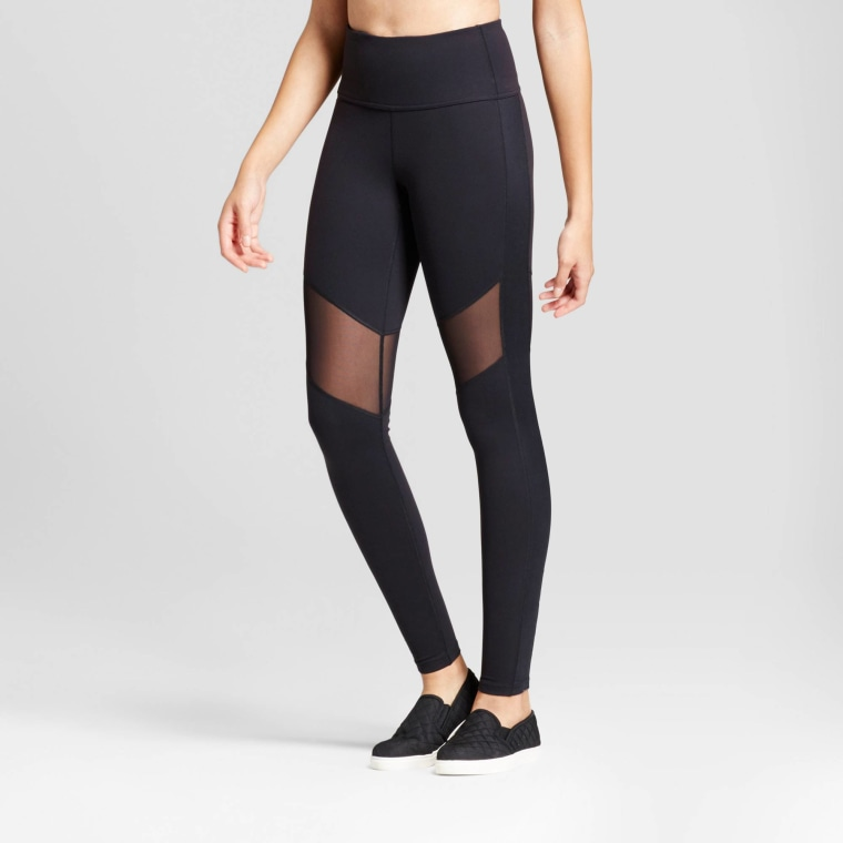 JoyLab Women's Premium High Waist Mesh Leggings