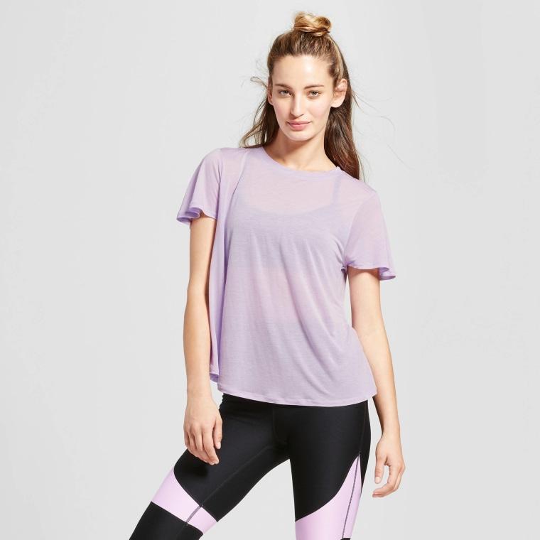 JoyLab Women's Flutter Back T-Shirt