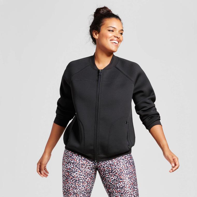 JoyLab Women's Plus Bomber Jacket