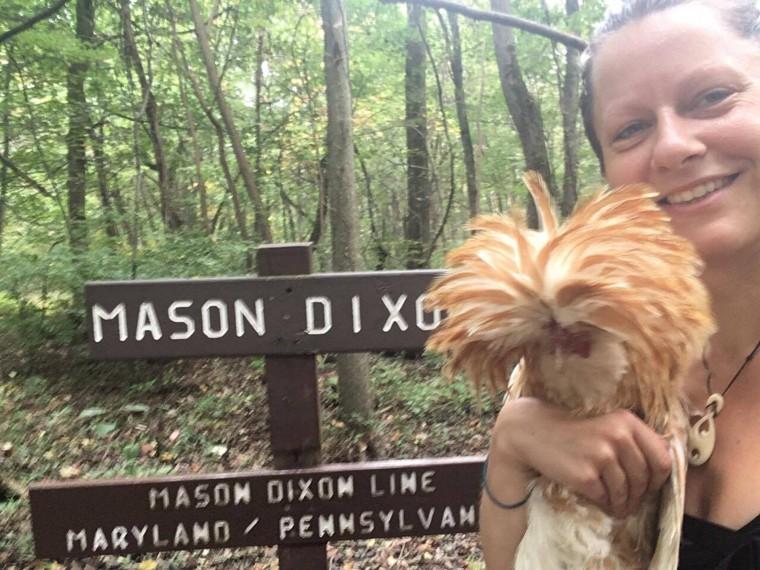 Bolint says Mason was a good hiking companion.