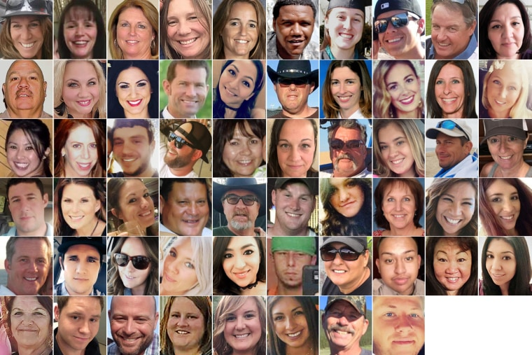 Image: Las Vegas shooting victims