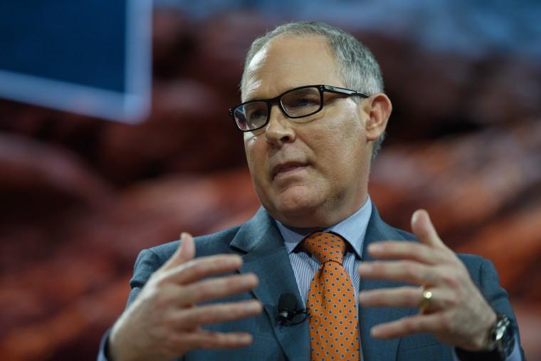 Image: Scott Pruitt, administrator of U.S. EPA