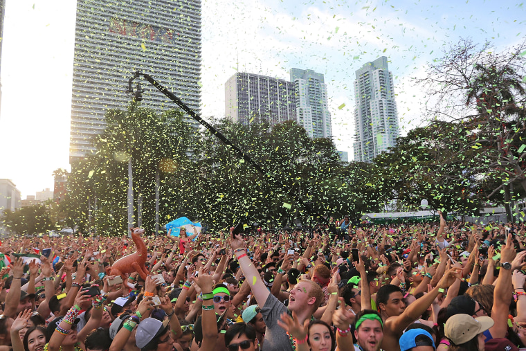 Image: Guests attend Ultra Music Festiva