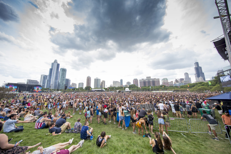 Image: Day three of Lollapalooza at Grant Park