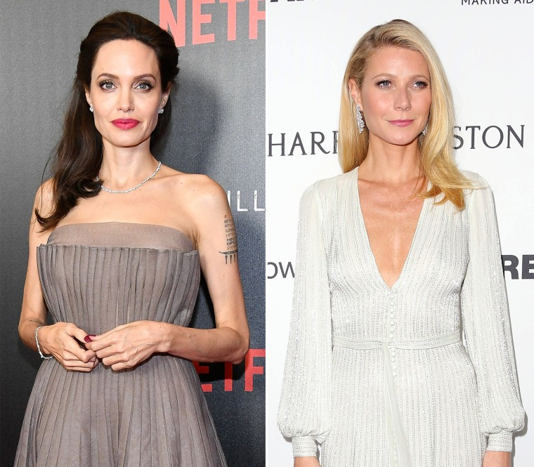 Image: Angelina Jolie and Gwyneth Paltrow