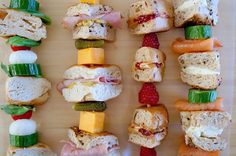 Image: Lunch Box Bagel Kabobs