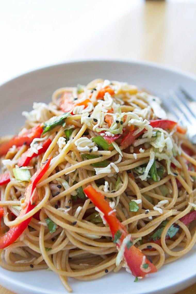 Image: Sesame Noodle Salad