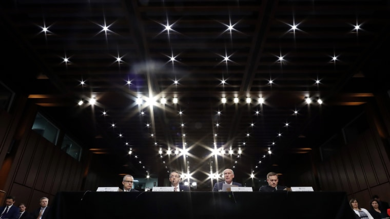 Image: Senate Intelligence Committee hearing about the Foreign Intelligence Surveillance Act