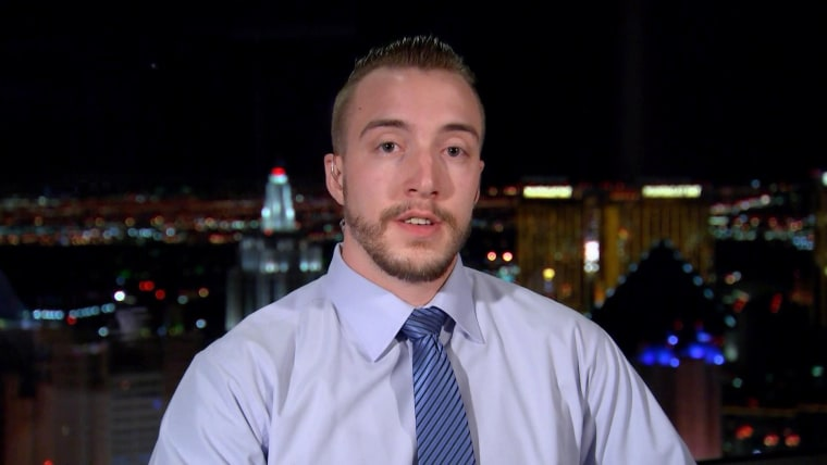Image: Stephen Schuck, a building engineer at the Mandalay Bay Hotel