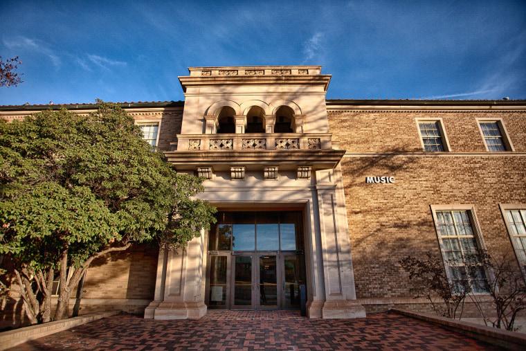 Image: Hemmle Recital Hall at Texas Tech University