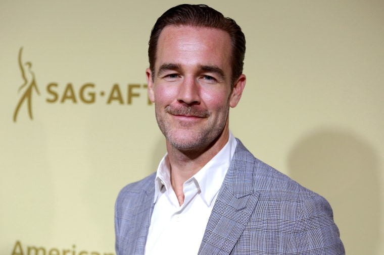 Image: James Van Der Beek