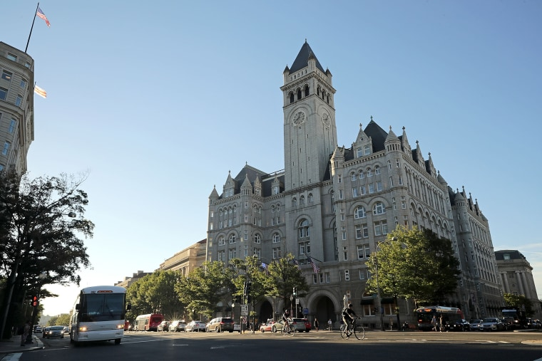 Image: Trump International Hotel in D.C.