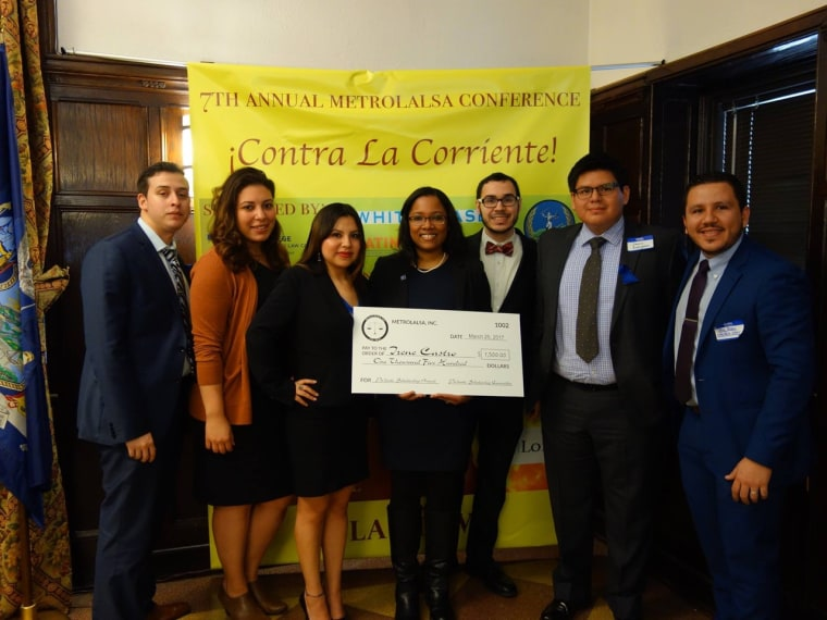 Members of New York's Metro Latin American Law Students Association at their annual conference.