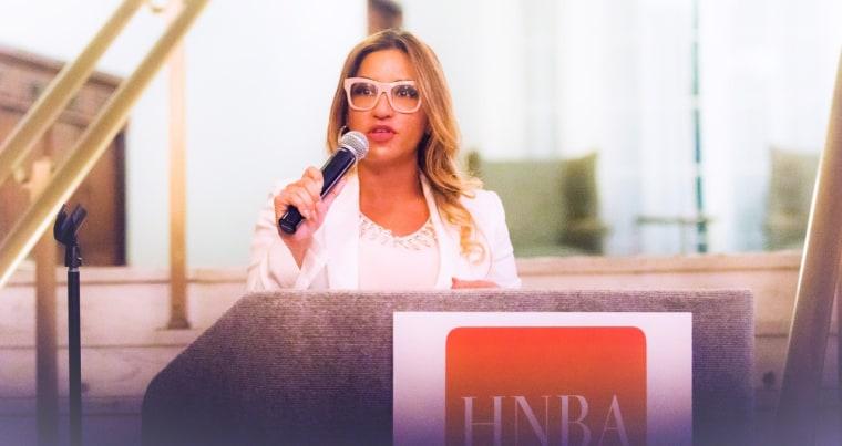 Erica V. Mason is the 40th president of the Hispanic National Bar Association.