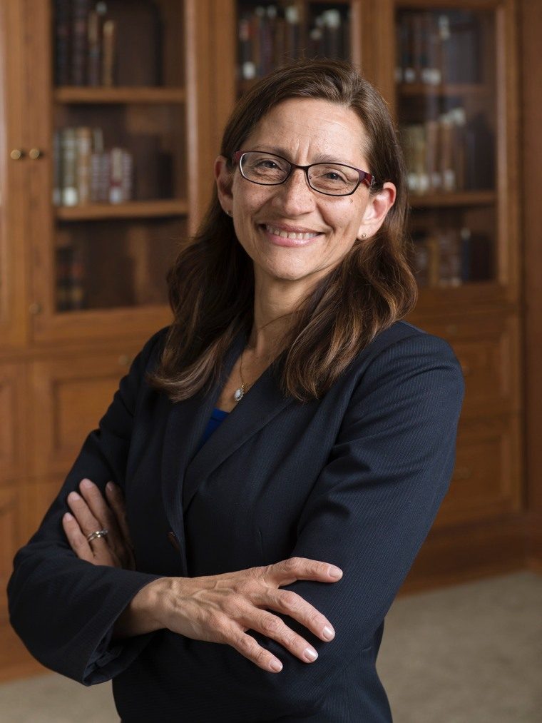 Jennifer Rosato Perea, dean of DePaul University's College of Law, is one of a few Latina law school deans in the country.