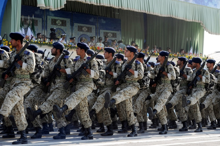 Image: Military Parade Kicks Off Irans Sacred Defence Week