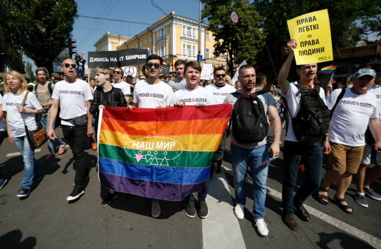 Gay Pride 2017 in Kiev