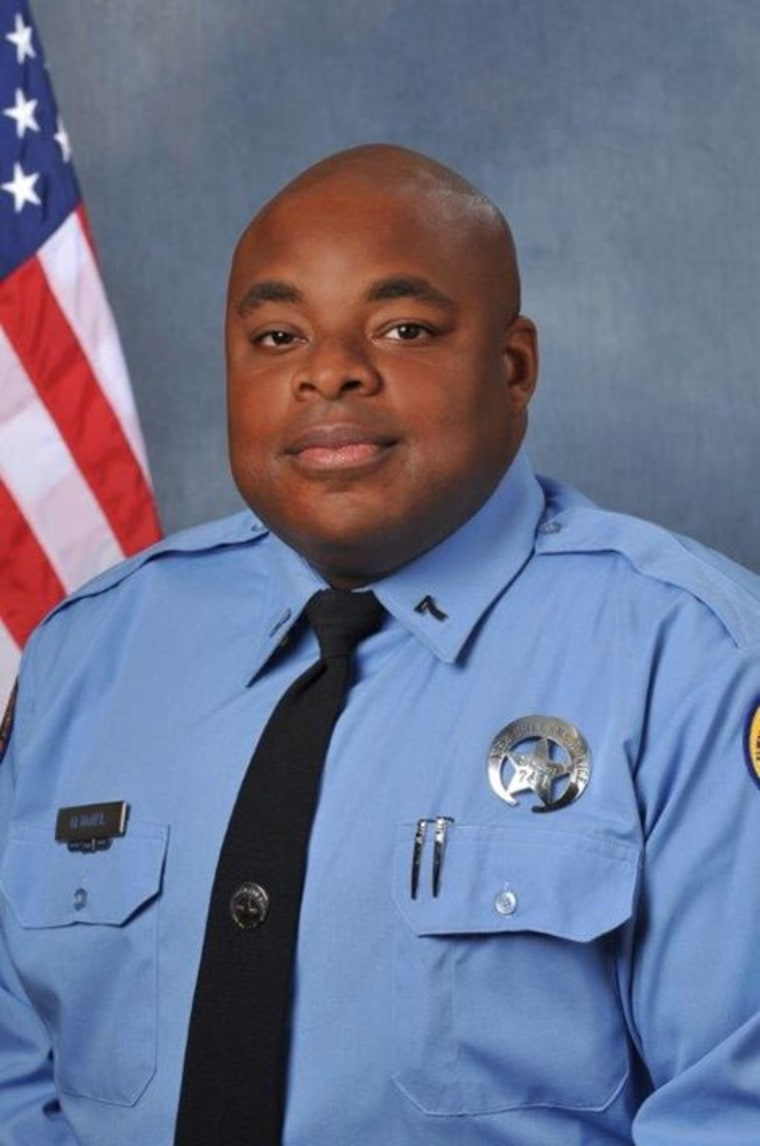 Officer Marcus McNeil, 29, was a three-year veteran of the New Orleans Police Department.