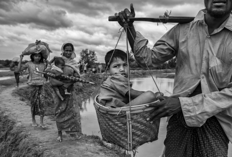 Image: Rohingya Refugees Flee Into Bangladesh to Escape Ethnic Cleansing