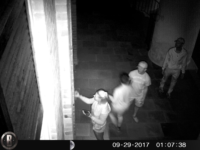 Image: Surveillance footage from Salem Black River Church in Mayesville, South Carolina