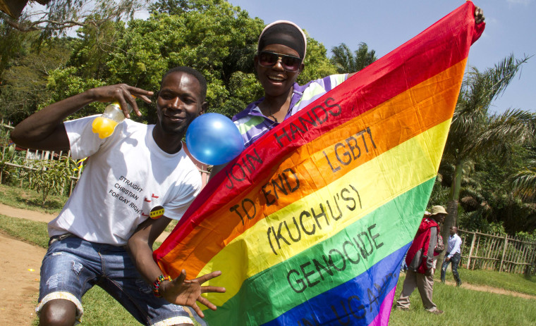 UGANDA-POLITICS-GAY-LAW