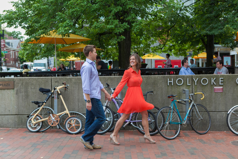 Patrick Downes and Jessica Kensky survived the Boston Marathon bombing