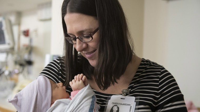 When Brenda Vronko noticed her baby was kicking less than usual, she went to the hospital to check it out. Her instincts saved her baby's life.