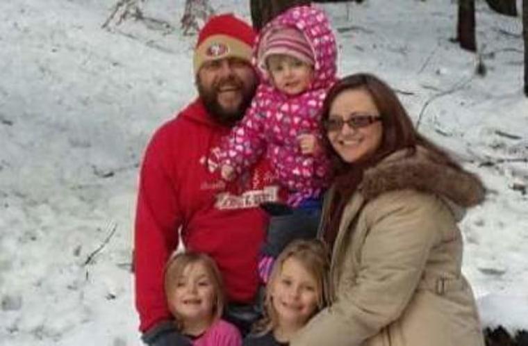 Rashell Sprague and family.